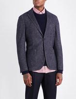 SLOWEAR Montedoro slim-fit wool-blend jacket