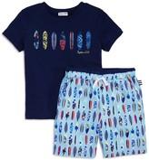 Splendid Boys' Surfboard Tee & Shorts Set