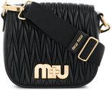 Miu Miu ribbed detail bag