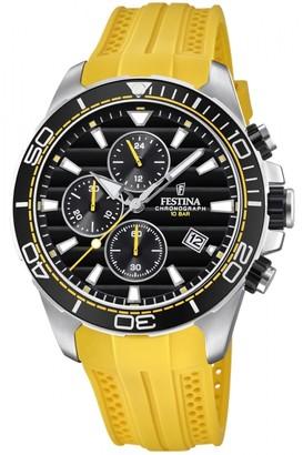 Mens Festina Originals - The Tour Of Britain 2018 Chronograph Watch F20370/2