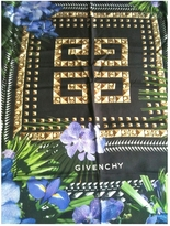 Givenchy Blue Silk Scarf