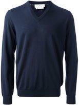 Salvatore Ferragamo classic v-neck sweater