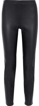 Elie Tahari Roxanna Stretch-leather Leggings