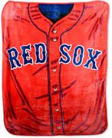 Northwest Company Boston Red Sox Plush Jersey Throw Blanket