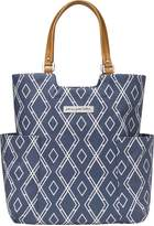 Petunia Pickle Bottom Tailored Tote, Indigo by
