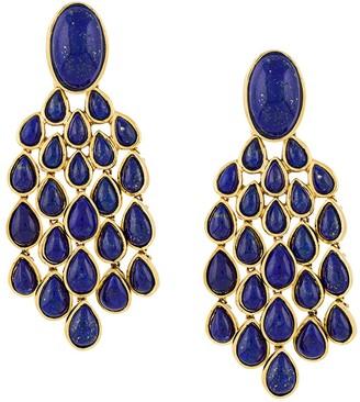 Aurélie Bidermann Lapis Lazuli drop earrings