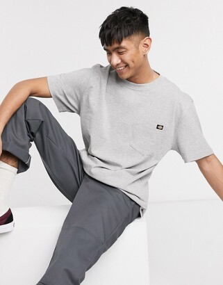 Dickies Porterdale t-shirt with pocket in grey