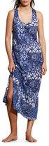 Lauren Ralph Lauren Slub Jersey Maxi Gown
