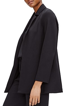 Eileen Fisher Notch-Collar Jacket