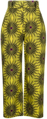 Sika'a Flora Cropped Trousers