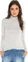 Bella Dahl Long Sleeve Turtle Neck-Winter White-XS