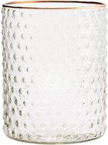 H&M Textured Glass Vase