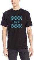 HUF Men's Checkerboard Box Logo T-Shirt