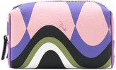 Emilio Pucci abstract print makeup bag