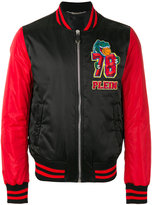 Philipp Plein ́Plein Warriors` bomber jacket - men - Nylon/Polyamide/Polyester - M