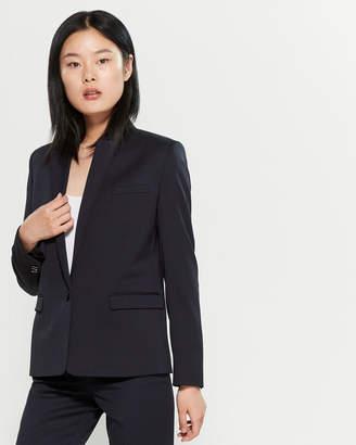 The Kooples Solid Slim Fit Blazer
