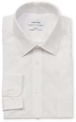 Calvin Klein Regular Fit Pinstripe Dress Shirt