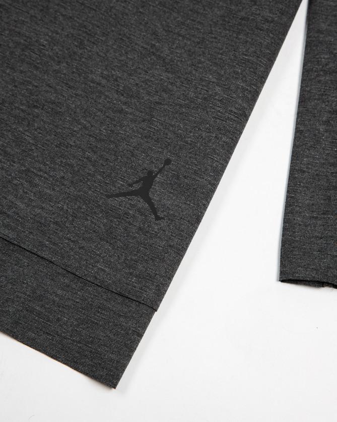 Jordan Brand 23 Lux Extended Long Sleeve Top (Black)