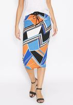 Dorothy Perkins Printed Tube Skirt