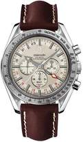 Omega Men's 3881.30.37 Speedmaster Broad Arrow GMT Automatic Chronometer Chronograph Watch