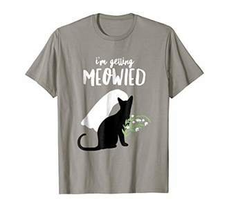 I'm Getting Meowied Funny Bachelorette Party Shirt