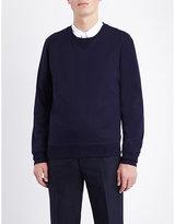 Brunello Cucinelli Ribbed-detail Cotton Sweatshirt