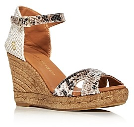 Kurt Geiger Women's Leona Wedge Espadrille Sandals