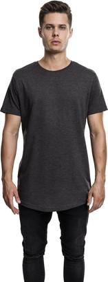 Urban Classics Men's Shaped Melange Long Tee T-Shirt