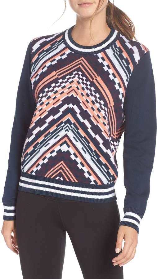 Sweaty Betty Brixton Chevron Sweater