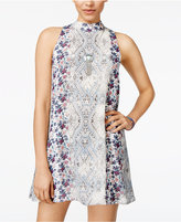 Speechless Juniors' Printed Mini Dress, A Macy's Exclusive