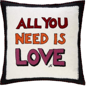 Jan Constantine Pop Art All You Need Is Love Cushion - 46x46cm