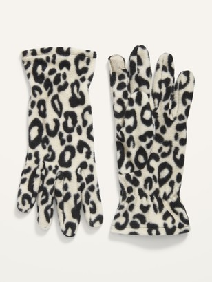 Old Navy Go-Warm Performance Fleece Text-Friendly Gloves for Women