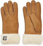 UGG Classic Turn Cuff Suede and Sheepskin Gloves