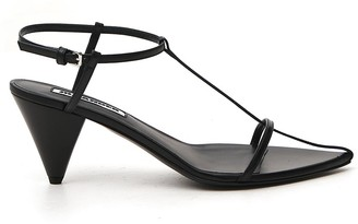 Jil Sander Thong Heeled Sandals