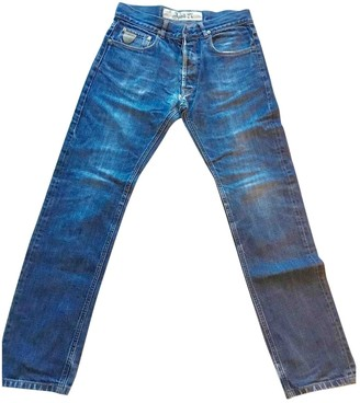 April 77 Blue Cotton Jeans for Women