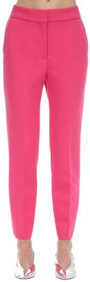 MSGM Tailored Straight Leg Double Crepe Pants