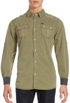 Buffalo David Bitton Steward Long Sleeve Shirt