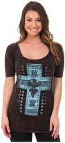 Rock and Roll Cowgirl 1/2 Sleeve Knit 48T4298