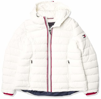 Tommy Hilfiger Women's Hooded Global Puffer
