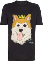 Dolce & Gabbana Chinese Corgi T-Shirt