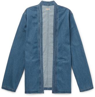 KAPITAL Cotton-Chambray Jacket