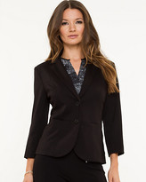 Le Château Knit Notch Collar Blazer