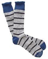 Corgi Marled Stripe Socks in Blue