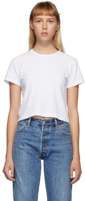 RE/DONE White Hanes Edition Heritage 1950s Boxy T-Shirt