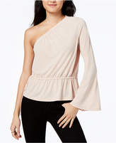 Rachel Roy One-Shoulder Bell-Sleeved Top, Created for Macy's