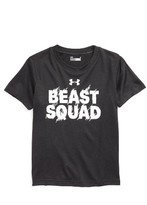 Under Armour Toddler Boy's Beast Squad Graphic Heatgear T-Shirt