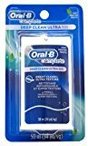 Oral-B 54 Yards Floss Deep Clean Ultra (6 Pieces) Mint