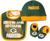 Gerber Green Bay Packers 'Give Me Some' Bib Set