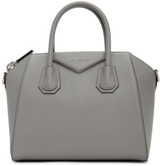 Givenchy Grey Small Antigona Bag