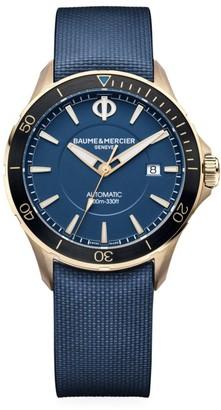 Baume & Mercier Clifton Club Bronze & Rubber Strap Watch